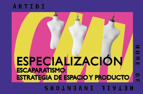 Curso Escaparatismo: Estrategia de Espacio y Producto
