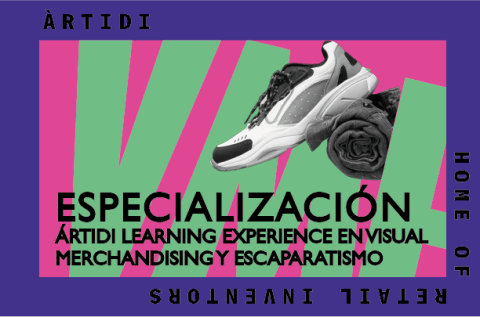 Curso Learning Experience en Visual Merchandising y Escaparatismo