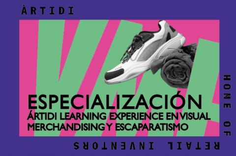 Curso Àrtidi Learning Experience en Visual Merchandising, Escaparatismo y estancia en Barcelona