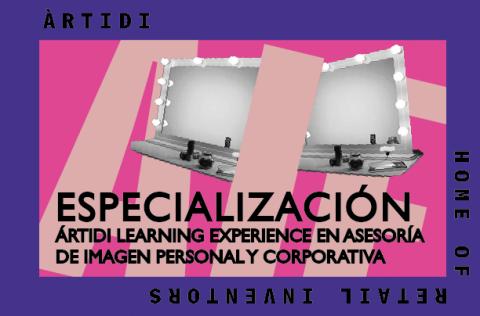 Curso Learning Experience asesoría de imagen personal, corporativa y estancia en Barcelona
