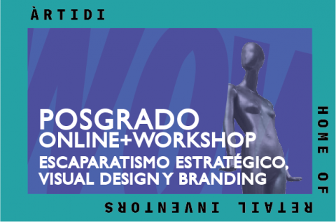 Curso Escaparatismo Estratégico, Visual Design y Branding + Workshop
